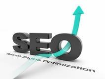SEO - Optimização do Search Engine Fotografia de Stock Royalty Free