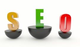 SEO - Optimização do Search Engine Fotos de Stock Royalty Free