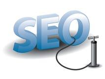 SEO - Optimización del Search Engine stock de ilustración