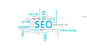 Seo, optimización del Search Engine stock de ilustración