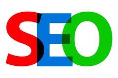 """SEO - Optimización del Search Engine Vector del texto del †colorido de la abreviatura """" libre illustration"""