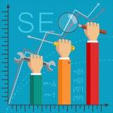 SEO Optimization Royalty Free Stock Images