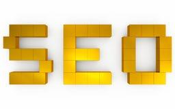 Seo optimization 3d Stock Image