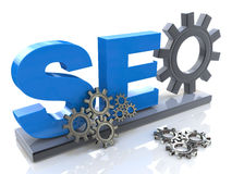 SEO optimization royalty free stock image