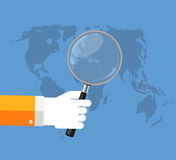 SEO Optimization,Web Analytics Flat Concept Vector Royalty Free Stock Photos