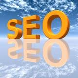 SEO - Ottimizzazione del motore di ricerca Immagine Stock