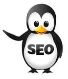SEO Penguin Lizenzfreies Stockfoto