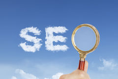 SEO photo concept Royalty Free Stock Image