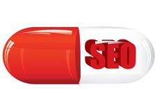 Seo pill Stock Photos