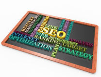 Seo,ranking,target,optimization,words Stock Photo