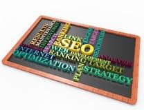 Seo,ranking,target,optimization,words Stock Photo
