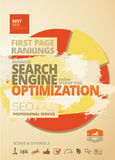 SEO Rankings Concept Design Stock Image