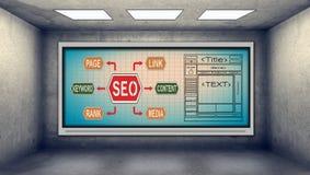 Seo scheme Stock Photos