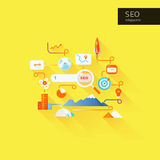 Seo_search Royalty-vrije Stock Afbeelding