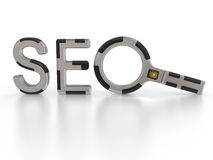 Seo Search Concept Royalty Free Stock Images