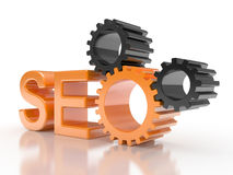 SEO - Search Engine gears Stock Image