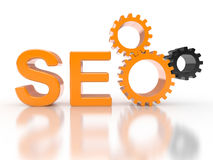 SEO - Search Engine gears Stock Images