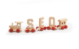SEO search engine optimisation made simple stock image