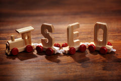 SEO - Search Engine Optimization Royalty Free Stock Image