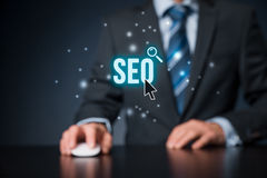 SEO search engine optimization Royalty Free Stock Photography