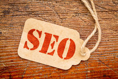 SEO - search engine optimization Royalty Free Stock Photo