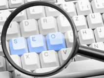 SEO - search engine optimization concept Stock Photo
