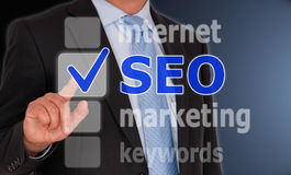 SEO - Search Engine Optimization stock photo