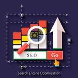 Seo search engine optimization programming process Stock Photo
