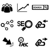 Seo, search engine optimization Royalty Free Stock Images