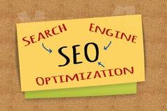 SEO - Search Engine Optimization Stock Photography