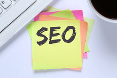 SEO Search Engine Optimization for websites internet business co Royalty Free Stock Photo