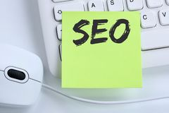 SEO Search Engine Optimization for websites internet business co Stock Images