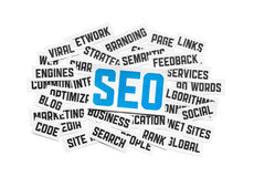 SEO Sign Stock Photography