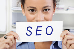 SEO sign Stock Photos