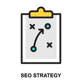 SEO Strategy Photographie stock