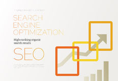 SEO Success Concept Foto de Stock