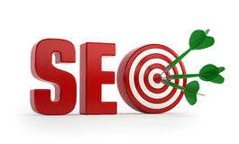 SEO target Stock Images
