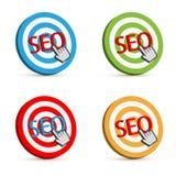 Seo target Stock Photography