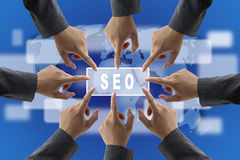 SEO Team Royalty Free Stock Image