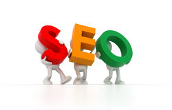 SEO Team Stock Image
