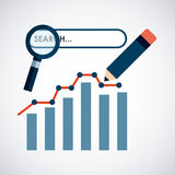 Seo technology Stock Photography