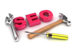 SEO Tools Immagine Stock