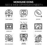 Seo und Netz opimization Stockfotografie
