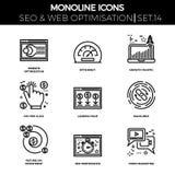 Seo und Netz opimization Stockfoto