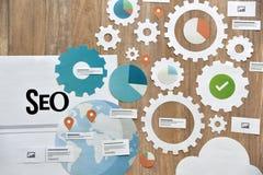 SEO and web development Royalty Free Stock Photos