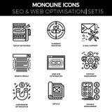 Seo and web opimization Royalty Free Stock Photo