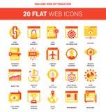 SEO and Web Optimization Royalty Free Stock Images
