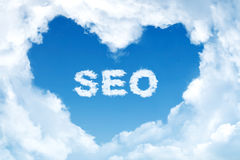 SEO word Stock Photo
