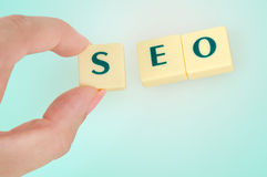 SEO word Stock Photos