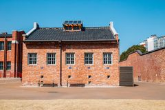 Seodaemun Prison History Hall in Seoul, Korea Royalty Free Stock Images